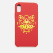 KENZO Women's iPhone X Tiger Head Phone Case - Coral