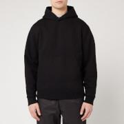 Acne Studios Men's Classic Fit Hooded Sweatshirt - Black