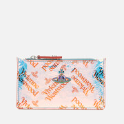 Vivienne Westwood Women's Archive Orb Slim Long Card Holder - Blue