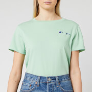 Champion Women's Small Script T-Shirt - Mint Green
