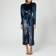 ROTATE Birger Christensen Women's Barbara Maxi Dress - Twilight Blue
