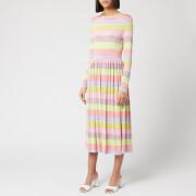 Stine Goya Women's Joel Stripe Midi Dress - Multi