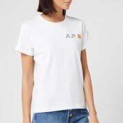A.P.C. X Carhartt Women's Fire T-Shirt - White