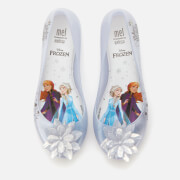 Mini Melissa Kids' Disney Frozen Ultragirl Ballet Flats - Iridescent Ice Flower