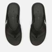 Lacoste Men's Croco 219 Toe Post Sandals - Black/White