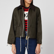 Barbour Women's Alexa Chung Margot Wax Jacket - Archive Olive