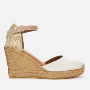 Kurt Geiger London Women's Monty Wedged Sandals - Bone