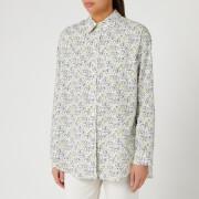 PS Paul Smith Women's Rabbit Print Shirt - White/Black