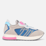 Ash Women's Tiger Running Style Trainers - Grey/White/Blue