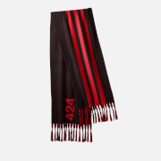 adidas X 424 Men's OS Scarf - Black/Red