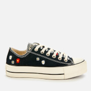 Converse Women's Chuck Taylor All Star Lift Ox Trainers - Black/Natural Ivory/Black