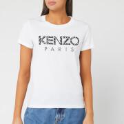 KENZO Women's Classic T-Shirt Kenzo Paris - White