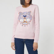 KENZO Women's Classic Tiger Slim Sweatshirt - Faded Pink