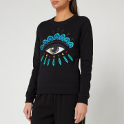 KENZO Women's Classic Eye Sweatshirt - Black
