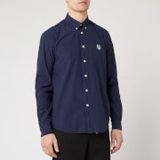 KENZO Men's Tiger Crest Casual Fit Shirt - Midnight Blue