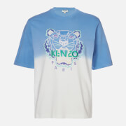 KENZO Men's Dip Dye Tiger Oversize T-Shirt - Lavender