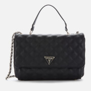 Guess Women's Cessily Convertible Cross Body Bag - Black