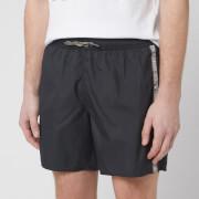 Emporio Armani Men's Logo Tape Boxer Swim Short - Nero