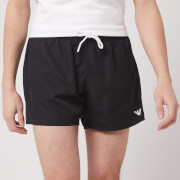 Emporio Armani Men's Classic Swim Shorts - Black