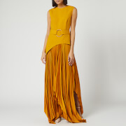 Solace London Women's Anya Midaxi Dress - Ochre