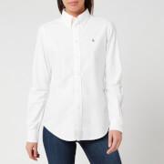 Polo Ralph Lauren Women's Kendal Long Sleeve Shirt - BSR White