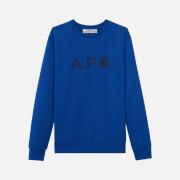 A.P.C. X Carhartt Men's Ice H Sweatshirt - Bleu Roi