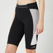 adidas by Stella McCartney Women's Running Over Knee Thr Shorts - Black/Grey/White