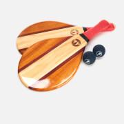 Frescobol Carioca Men's Trancoso Beach Bat Set - Red