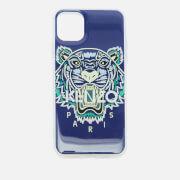 KENZO Men's Tiger iPhone 11 Max Case - Blue