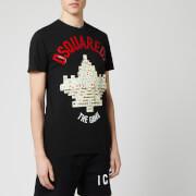 Dsquared2 Men's Arch Logo T-Shirt - Black