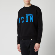Dsquared2 Men's Cool Fit Icon Sweatshirt - Black/Blue