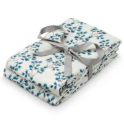 Cam Cam Printed Muslin Cloth - Fiori (Pack of 2)