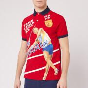 Polo Ralph Lauren Men's Printed Polo Shirt - Red Multi