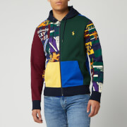 Polo Ralph Lauren Men's Patchwork Hoodie - Collegiate Patchwork