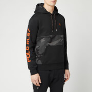 Polo Ralph Lauren Men's Tonal Camo Tech Fleece Hoodie - RL Charcoal Camo Multi