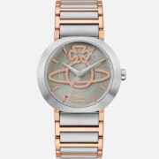 Vivienne Westwood Women's Clerkenwell Watch - Silver/Rose Gold