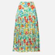 RIXO Women's Tina Midi Skirt - Retro Garden