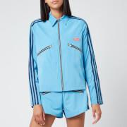 adidas X Lotta Volkova Women's Zip Shirt Jacket - Blue