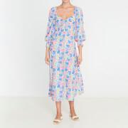 Faithfull the Brand Women's Mathilde Midi Dress - Jemima Floral Print