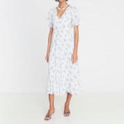 Faithfull the Brand Women's Maggie Midi Dress - Blue