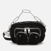 Núnoo Women's Helena Teddy Cross Body Bag - Black