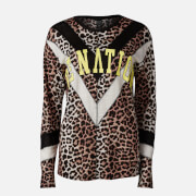 P.E Nation Women's Bar Down Long Sleeve T-Shirt - Leopard