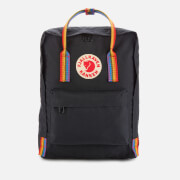 Fjallraven Kanken Rainbow Backpack - Black