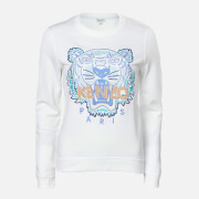 KENZO Women's Actua Tiger Sweatshirt - White