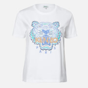 KENZO Women's Actua Tiger T-Shirt - White