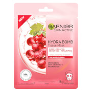 Garnier Hydra Bomb Anti-Ageing Grape Seed Extract and Hyaluronic Acid Tissue Face Mask (1 Mask)