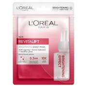 L'Oréal Paris Revitalift Brightening Sheet Masks (Pack of 5)