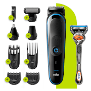 All-in-one Trimmer with 7 attachments and Gillette Razor