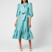 Stine Goya Women's Chinie Wrap Dress - Aqua