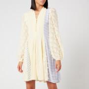 Stine Goya Women's Vico Mix Print Dress - Daffodil
